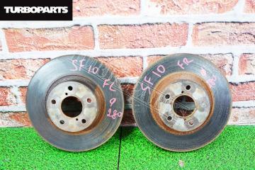Тормозные диски Subaru Forester SF5 EJ205 2000 перед. (б/у)