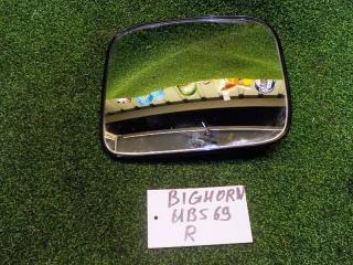 Запчасть зеркало-полотно правое ISUZU BIGHORN
