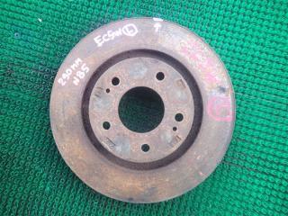 Тормозной диск передний левый MITSUBISHI LEGNUM