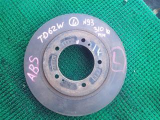 Тормозной диск передний левый SUZUKI ESCUDO