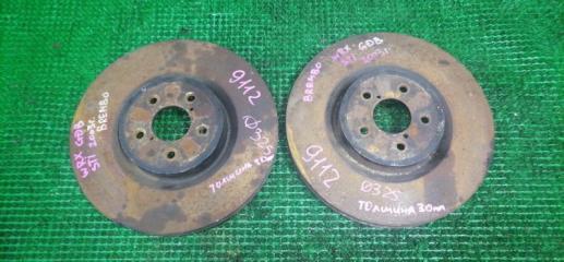 Тормозной диск передний SUBARU IMPREZA STI