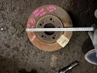 Тормозной диск передний правый HONDA PRELUDE