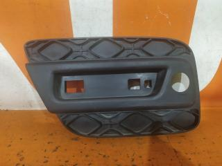 Запчасть накладка бампера задняя правая Renault Sandero 2013-нв
