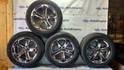 Комплект из 4-х Колесо R18 / 235 / 55 Michelin Pilot HX MXM 4 5x114.3 лит. 24ET  (б/у)