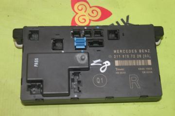 Блок двери передний правый MERCEDES E-CLASS 2006