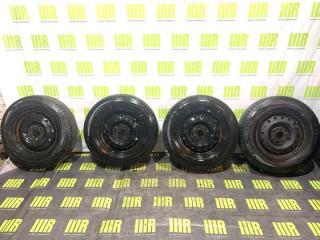 Комплект из 4-х Колесо R15 / 205 / 70 Dunlop PT3 5x114.3 штамп.
