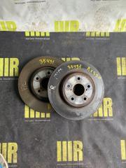 Запчасть тормозной диск передний LEXUS RX350
