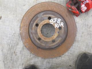 Запчасть тормозной диск задний Mercedes S500 2006