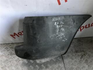 Накладка заднего бампера правая FIAT DOBLO 2008 223 БУ