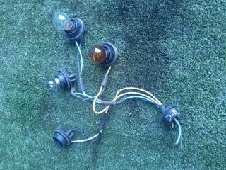 Запчасть коса (жгут) проводов фонаря задняя Daewoo Matiz 1998-2010