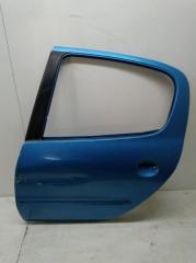 Запчасть дверь задняя левая Peugeot 206 1998-2012