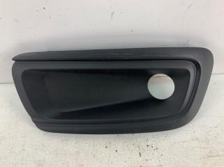 Запчасть окантовка птф передняя левая Citroen C4 2015-