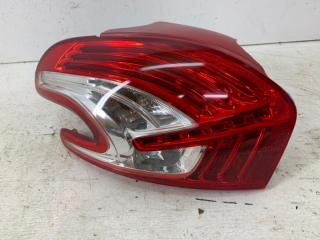 Запчасть фонарь задний левый Peugeot 208 2012-