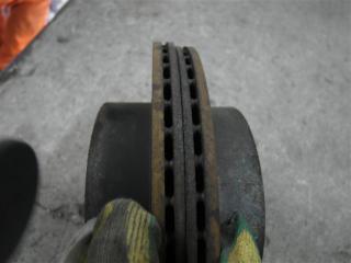 Запчасть тормозной диск задний Nissan X-Trail 2007
