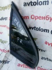 Стекло двери переднее правое Daewoo Matiz