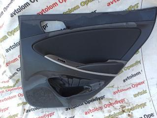 Обшивка двери задняя правая Hyundai Solaris