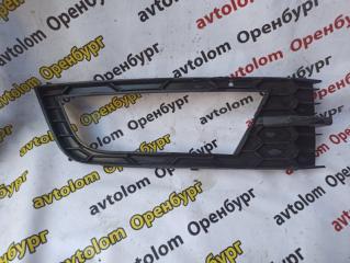 Запчасть накладка птф передняя правая Skoda Octavia