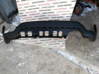 Накладка бампера задняя Kia Rio X-line