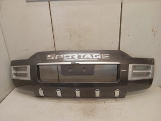 Накладка переднего бампера Kia Sportage 2 2004-2010 P83101F020 Б/У
