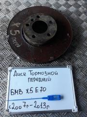 Запчасть диск тормозной передний BMW X5 2007-2013