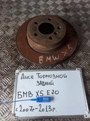 Запчасть диск тормозной задний BMW X5 2007-2013