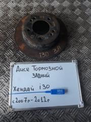 Запчасть диск тормозной задний Hyundai I30 2007-2012