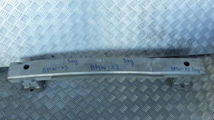 Запчасть усилитель бампера задний BMW X3 2010-2014
