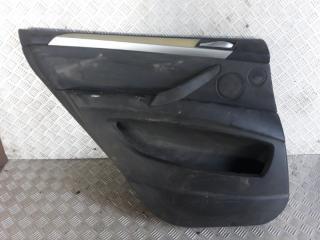 Запчасть обшивка двери задняя левая BMW X5 2007-2013