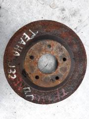 Запчасть диск тормозной передний Nissan Teana 2012