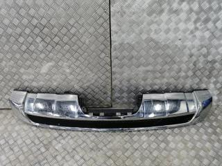 Запчасть накладка на бампер задняя Mercedes-Benz M-Class ML 2011-2015