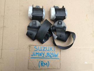 Ремень безопасности задний SUZUKI JIMNY 2002г.; JB23W K6A контрактная