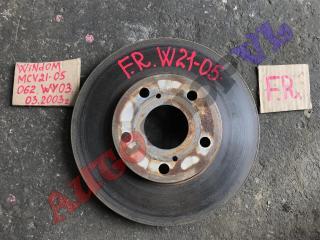 Тормозной диск передний правый TOYOTA WINDOM 03.2000