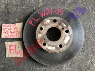 Тормозной диск передний левый TOYOTA WINDOM 03.2000