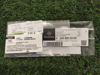 Накладка бампера задняя левая Mercedes-Benz C-Class