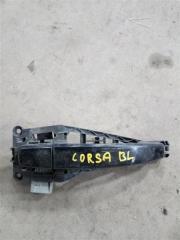 Запчасть ручка двери внешняя задняя левая Opel Corsa 2007