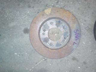 Запчасть тормозной диск передний Kia Soul 2009