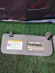 Запчасть козырек солнцезащитный Hyundai Solaris 2012