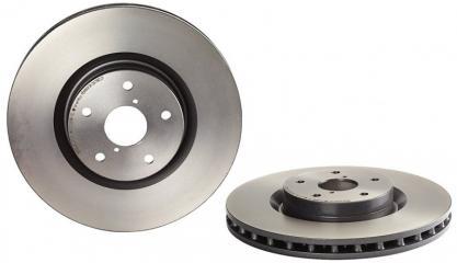 Тормозной диск передний передний SUBARU Impreza WRX STI 2001 - 2014