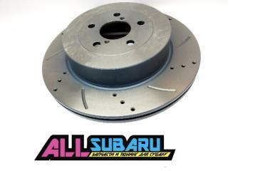 Тормозной диск задний задний SUBARU Impreza WRX STI GDB EJ207 новая