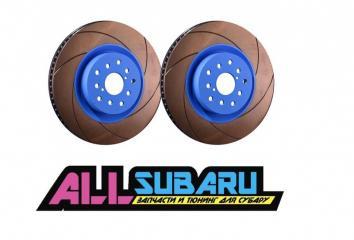Тормозной диск передний передний SUBARU WRX 2017