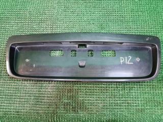 Рамка для номера задняя Nissan PRIMERA