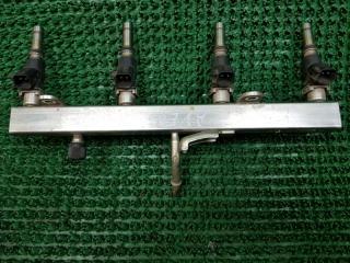 Топливная рампа с форсунками Chevrolet Aveo 2005-
