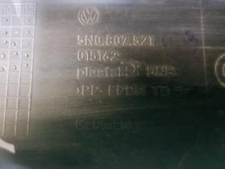 Юбка заднего бампера задняя Volkswagen Tiguan 2007-2017