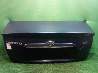 Запчасть крышка багажника задняя Kia cerato 2004-2008