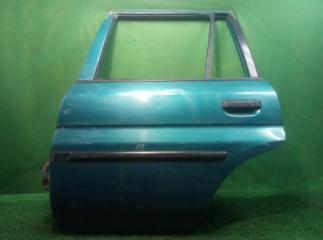 Запчасть дверь задняя левая Mazda demio 1996-2002