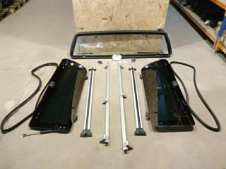 Запчасть стекла для кунга Volkswagen Amarok