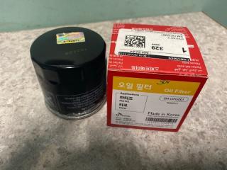 Запчасть фильтр масляный Daewoo Matiz