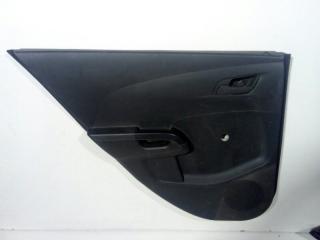 Обшивка двери задняя левая CHEVROLET AVEO T300 2011>