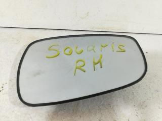 Зеркало двери переднее правое HYUNDAI SOLARIS 1 2010-2017