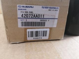 Запчасть фильтр топливный Subaru Impreza